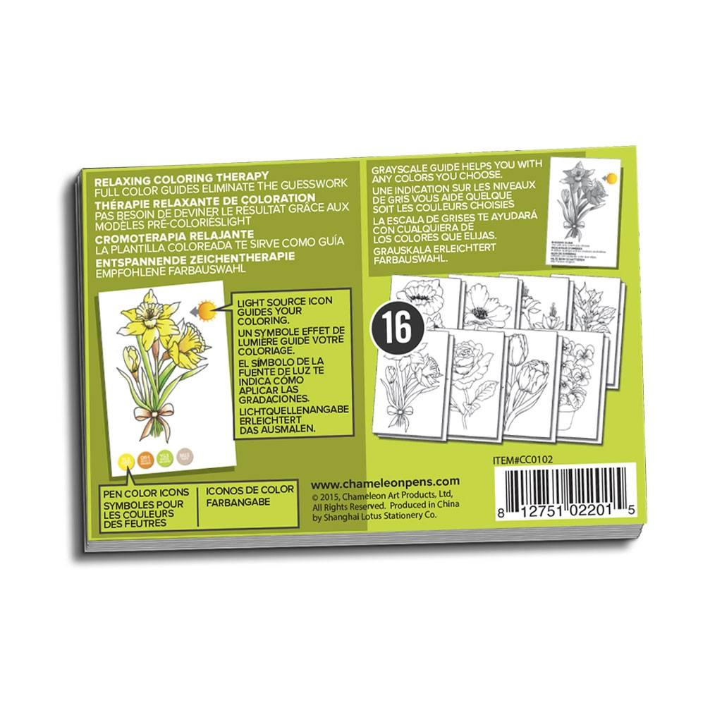 Раскраска-склейка Chameleon Flowers / Цветы CC0102: купить ...