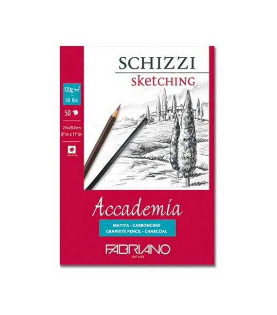 "FABRIANO Альбомы и блокноты ""Accademia"" 120-240г/м2"