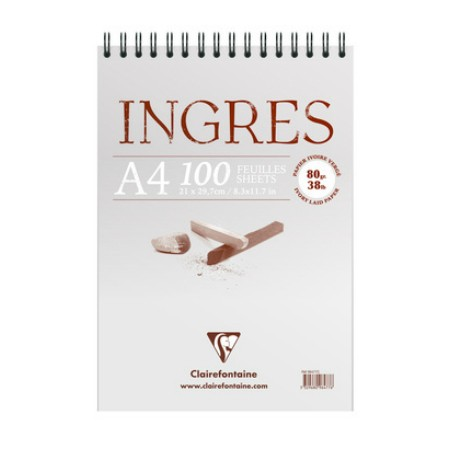 "CLAIREFONTAINE Альбомы ""Ingres"", 130 г/м2"