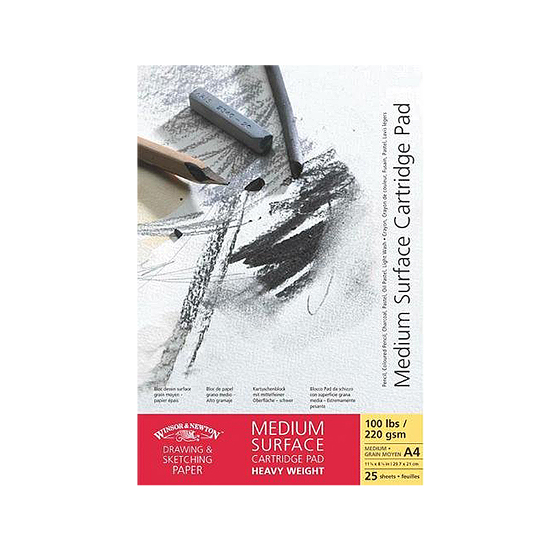 "WINSOR NEWTON Альбомы ""Medium Surface"", 96-220 г/м2"