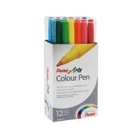 "PENTEL Фломастеры ""Colour Pen"" в наборах"